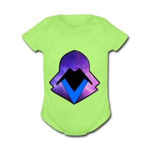 hoodie 2 - Short Sleeve Baby Bodysuit