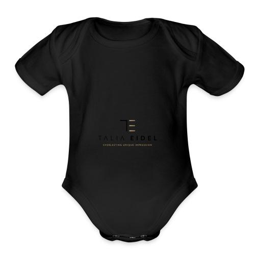 TALIA EIDEL - Organic Short Sleeve Baby Bodysuit