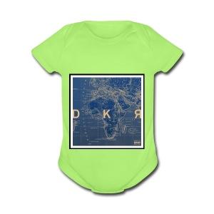 DKR_mod - Short Sleeve Baby Bodysuit