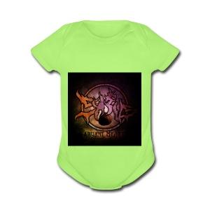 Sykeus Truant Heart - Short Sleeve Baby Bodysuit
