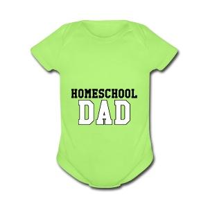 homeschooldad - Short Sleeve Baby Bodysuit
