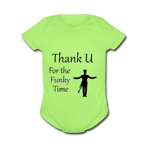 Prince - Darling Nikki Thank U for a Funky Time - Short Sleeve Baby Bodysuit