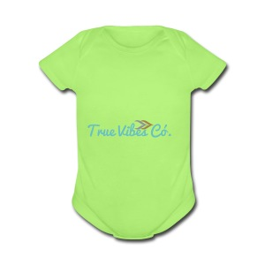 TrueVibes x Pastel Collection - Short Sleeve Baby Bodysuit
