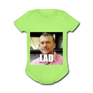CHCCS meme design 2 - Short Sleeve Baby Bodysuit