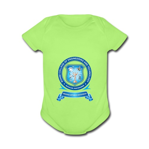 Rohini college - Organic Short Sleeve Baby Bodysuit