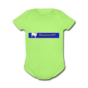 That is my logo - Short Sleeve Baby Bodysuit