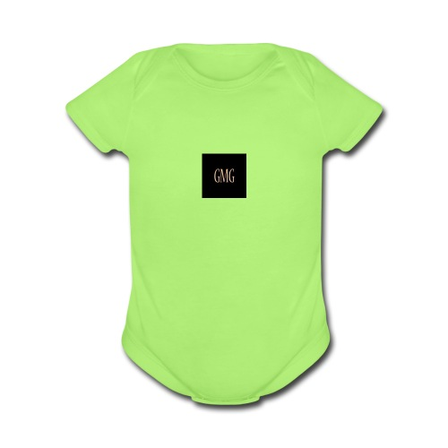 Gmg Company logo - Organic Short Sleeve Baby Bodysuit