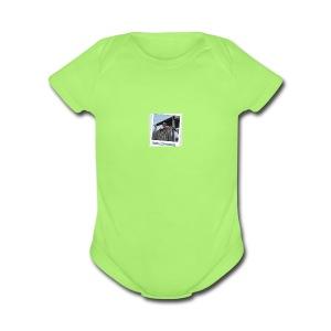 nathan living merchendise - Short Sleeve Baby Bodysuit