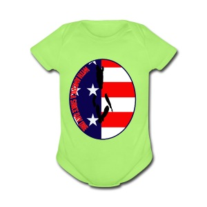 With America Since Day One - Short Sleeve Baby Bodysuit