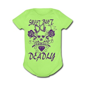 LEGAL - Short Sleeve Baby Bodysuit