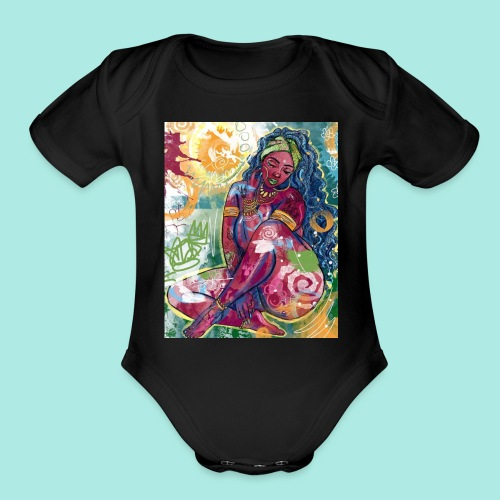 Goddess - Organic Short Sleeve Baby Bodysuit