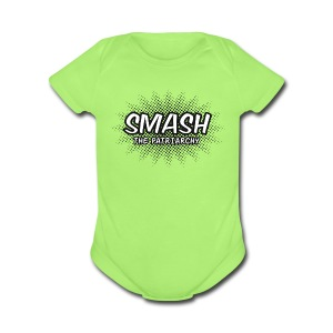 Smash The Patriarchy - Short Sleeve Baby Bodysuit