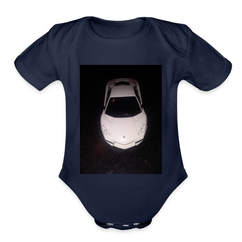Car - Organic Short Sleeve Baby Bodysuit