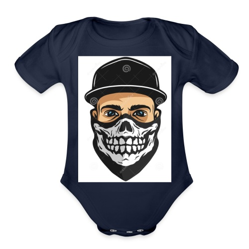 InfernoGangsta - Organic Short Sleeve Baby Bodysuit