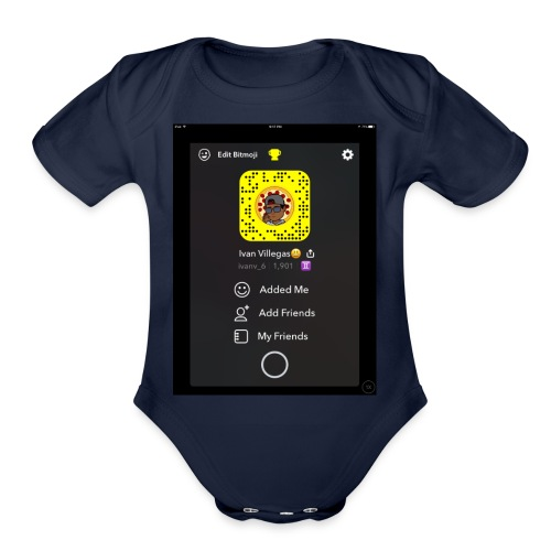 878F3BC7 86AA 41D7 8A7C BAA46013095A - Organic Short Sleeve Baby Bodysuit