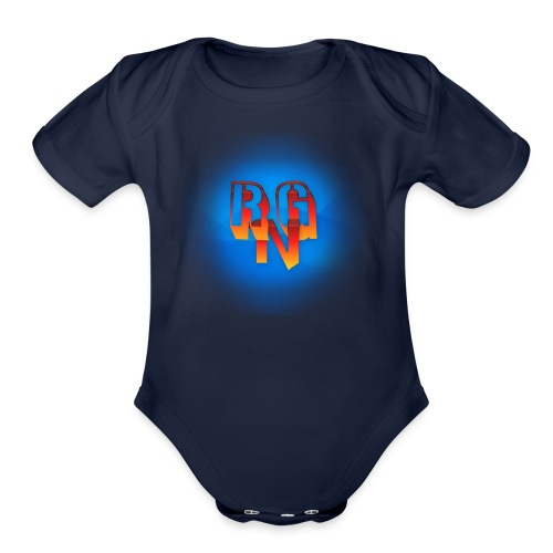 RgNation Logo - Organic Short Sleeve Baby Bodysuit