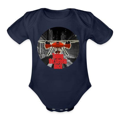 Taking Back the Night - Organic Short Sleeve Baby Bodysuit