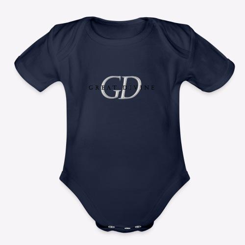 great divine - Organic Short Sleeve Baby Bodysuit