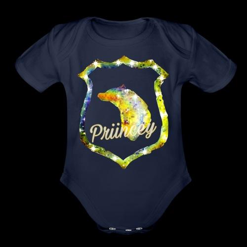 Priincey's HufflePuff house - Organic Short Sleeve Baby Bodysuit