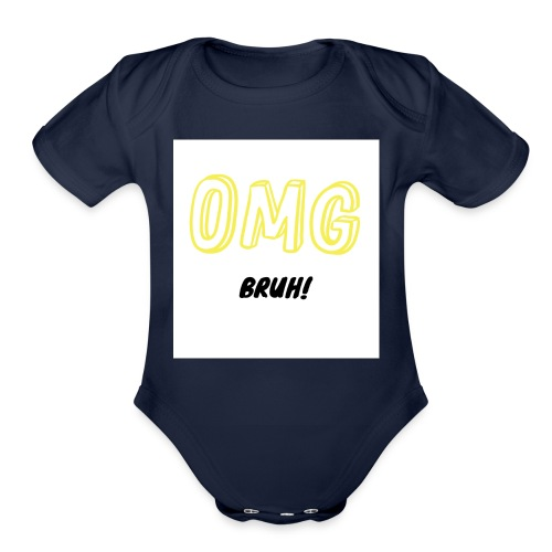 The Classic OMG - Organic Short Sleeve Baby Bodysuit