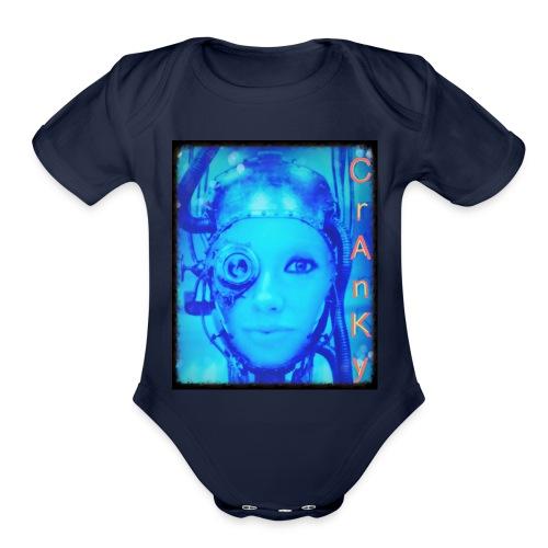 Cranky - Organic Short Sleeve Baby Bodysuit