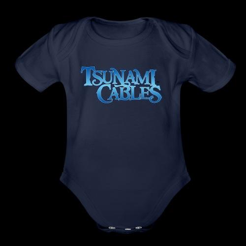Tsunami Cables - Organic Short Sleeve Baby Bodysuit