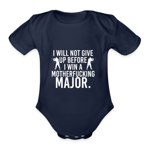 MAJOR Csgo Shirts |Counter Strike Tshirts & Hoodie - Organic Short Sleeve Baby Bodysuit