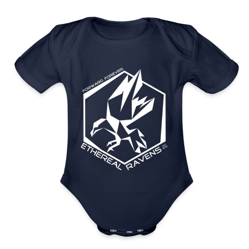 Kids - White - Organic Short Sleeve Baby Bodysuit