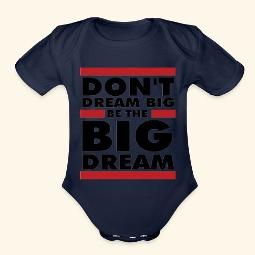 Motivational design - Organic Short Sleeve Baby Bodysuit