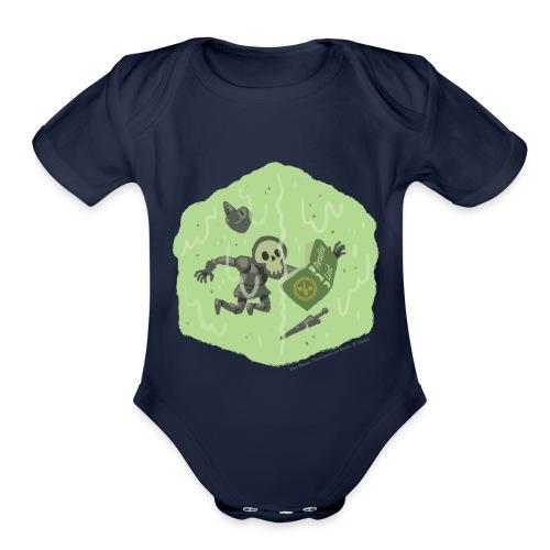 Slime - Winner - Pandemonium Books & Games - Organic Short Sleeve Baby Bodysuit