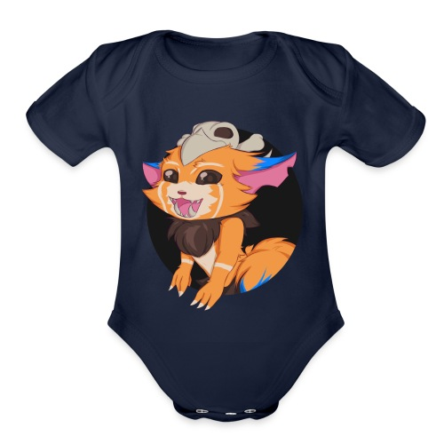 League of Legends - Gnar Cup - Organic Short Sleeve Baby Bodysuit