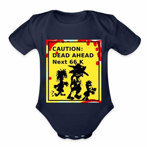 Dead Ahead! - Organic Short Sleeve Baby Bodysuit