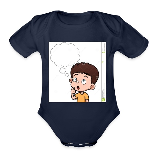 KIDS T-SHIRTS - Organic Short Sleeve Baby Bodysuit