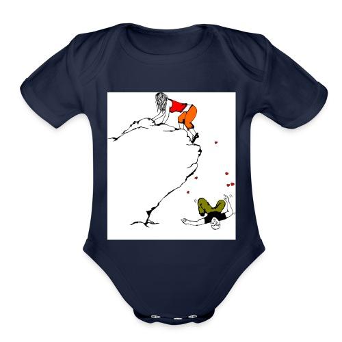 Lady Climber - Organic Short Sleeve Baby Bodysuit