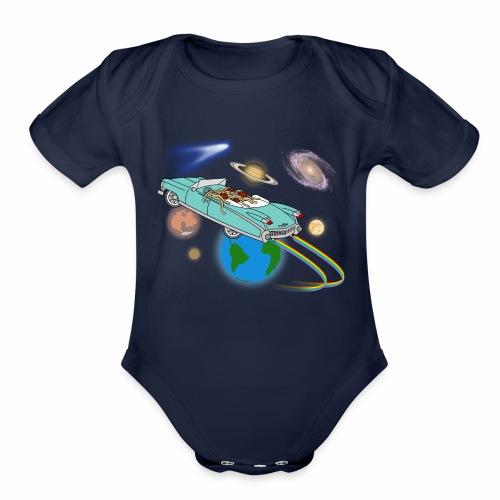 halleyscomet - Organic Short Sleeve Baby Bodysuit