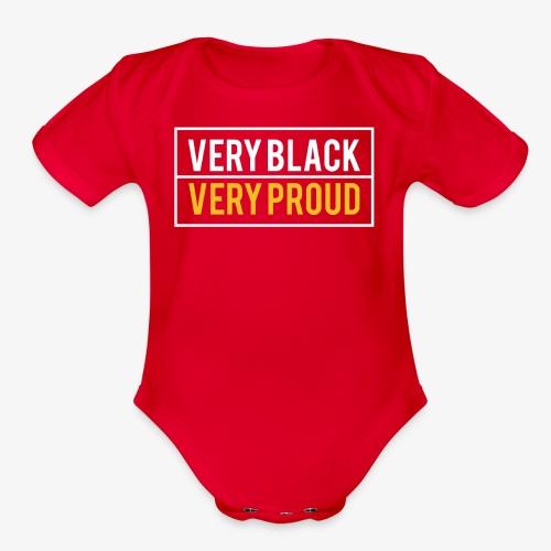 Melanin Pride - Organic Short Sleeve Baby Bodysuit