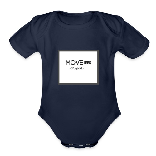 MOVETees -original- - Organic Short Sleeve Baby Bodysuit
