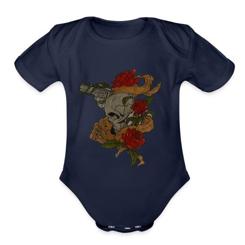 great american west - Organic Short Sleeve Baby Bodysuit