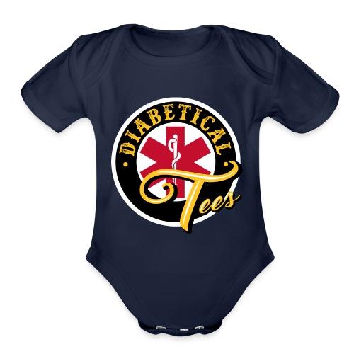 Diabetical Tees - Organic Short Sleeve Baby Bodysuit
