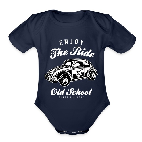 Enjoy The Ride - Organic Short Sleeve Baby Bodysuit