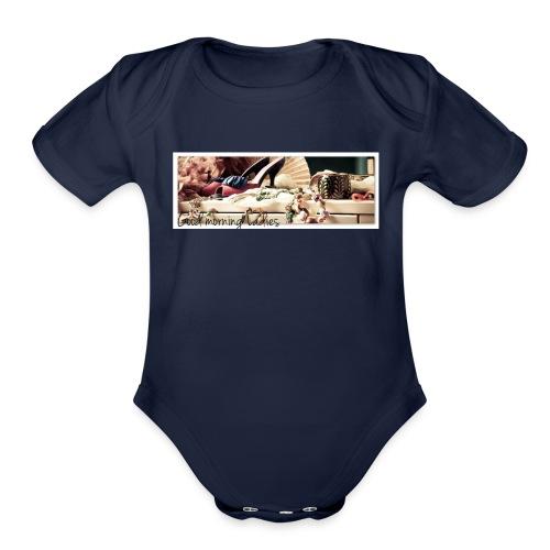 Ladies Morning Cup - Organic Short Sleeve Baby Bodysuit