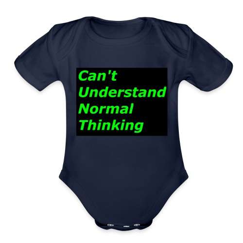 what C*** stands for - Organic Short Sleeve Baby Bodysuit