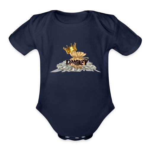 DAJUAN NEW LOGO 15 - Organic Short Sleeve Baby Bodysuit