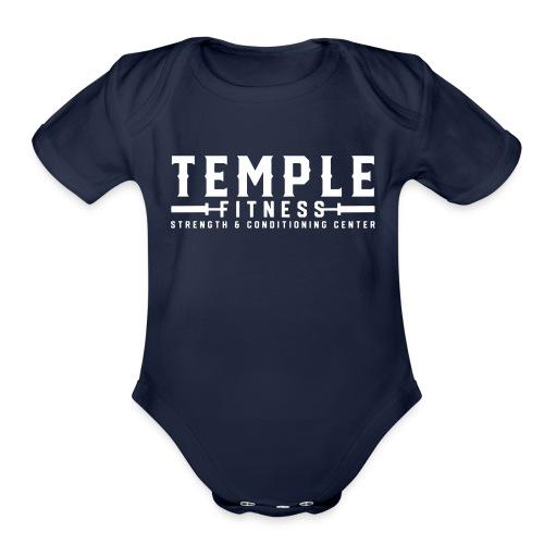 TF Logo 2018 - Organic Short Sleeve Baby Bodysuit