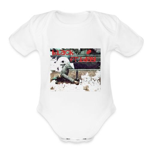 black friday - Organic Short Sleeve Baby Bodysuit