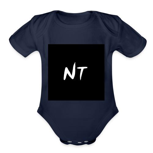 side merch - Organic Short Sleeve Baby Bodysuit