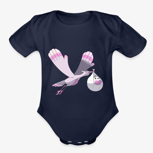 Baby's shirt - Organic Short Sleeve Baby Bodysuit