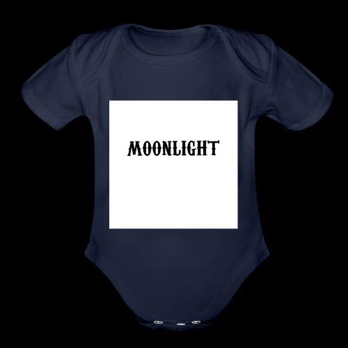 Project moon - Organic Short Sleeve Baby Bodysuit