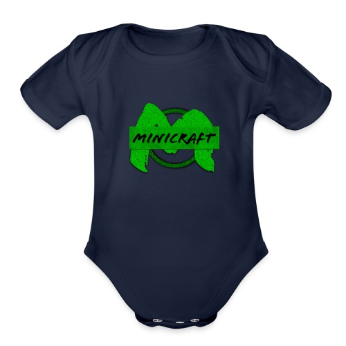 Minicraft - Organic Short Sleeve Baby Bodysuit