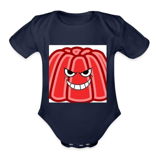 Red jelly kids hoodie - Organic Short Sleeve Baby Bodysuit